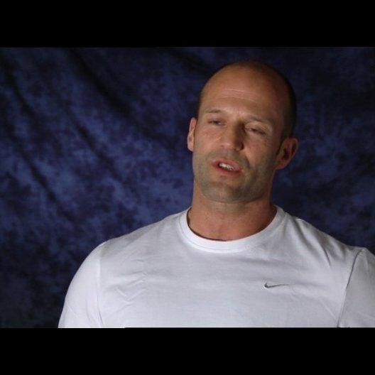 Jason Statham (Danny) über die Zusammenarbeit mit Robert de Niro - Interview