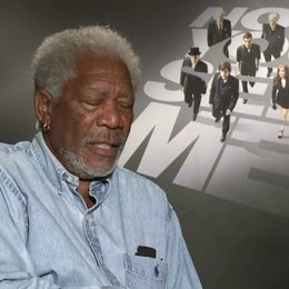 Morgan Freeman -Thaddeus Bradley - was den Zuschauer erwartet - OV-Interview