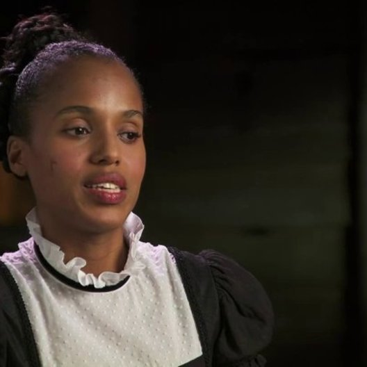 Kerry Washington über die Liebesgeschichte im Film - OV-Interview