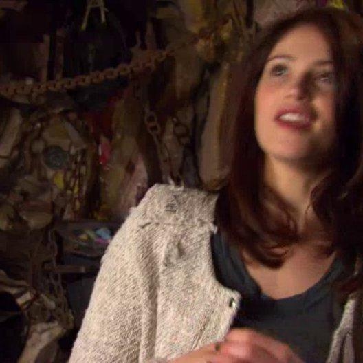 Gemma Arterton - Gretel - über den Regisseur - OV-Interview