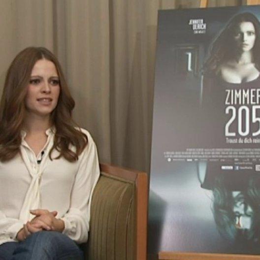 Jennifer Ulrich (Katrin) über ihr Lieblingsset im Film - Interview