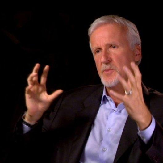 James Cameron - Ausführender Produzent und Kamera - über das umfangreiche 3D-Equipment - OV-Interview