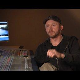 Simon Pegg über den Symbolismus der Morgenröte - OV-Interview