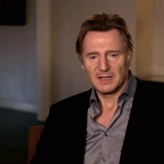 Liam Neeson - Bill Marks - darüber was das Publikum erwartet - OV-Interview