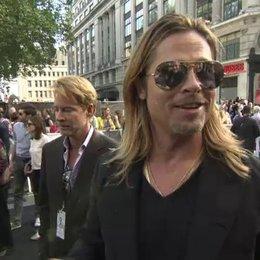 Brad Pitt - Gerry Lane - Premiere London - OV-Interview