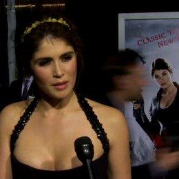 US Premiere - Gemma Arterton - Gretel - über die Dreharbeiten in 3D - OV-Interview