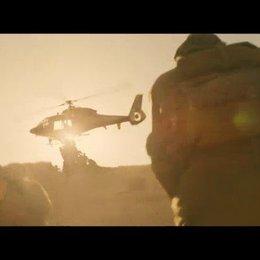 Attacke auf den Helikopter - Szene