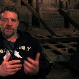 Russell Crowe über den Adrenalinschub beim Drehen - OV-Interview