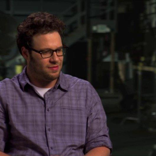 Seth Rogen über die verschiedenen Elemente des Films - OV-Interview