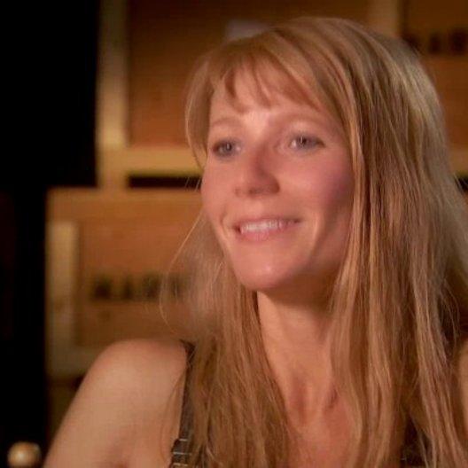 Gwyneth Paltrow - Pepper Potts - über Tony Stark bzw Iron Man als Identifikationfigur - OV-Interview