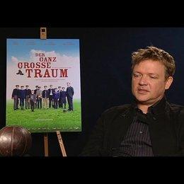 Justus von Dohnanyi (Richard Hartung) über die Grundthemen des Films - Interview