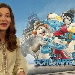 Hannah Herzsprung -Schlumpfine- über das Sprechen im Synchronstudio - Interview