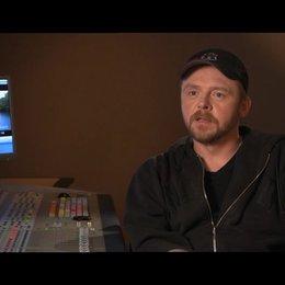 Simon Pegg über seine Rolle - OV-Interview