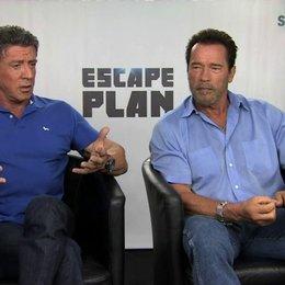 Stallone und Schwarzenegger über Ray Breslin - OV-Interview