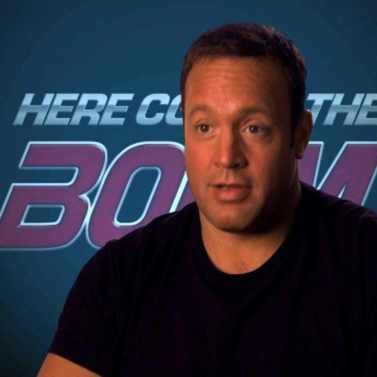 Kevin James über sein Training für die Rolle - OV-Interview