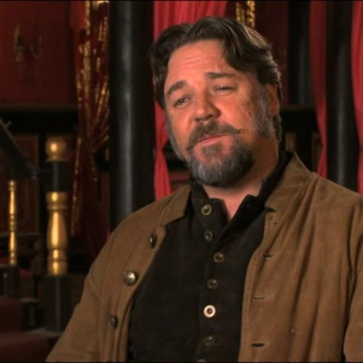 Russell Crowe über Jack Knife - OV-Interview