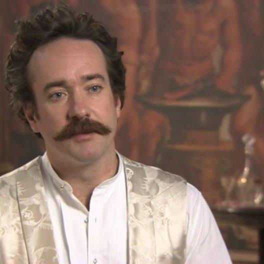 Matthew Mcfadyen über Oblonskijs Beziehung zu Levin - OV-Interview