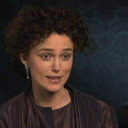 Keira Knightley über die Kostüme - OV-Interview