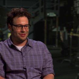Seth Rogen über die außergewöhnlichen Szenen der Schauspieler - OV-Interview