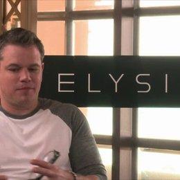 Matt Damon über die Androiden - OV-Interview