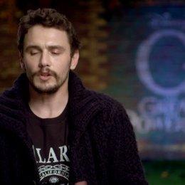 James Franco (Oz) über die Beziehung von Oz zu Porzellanmädchen und Finley - OV-Interview