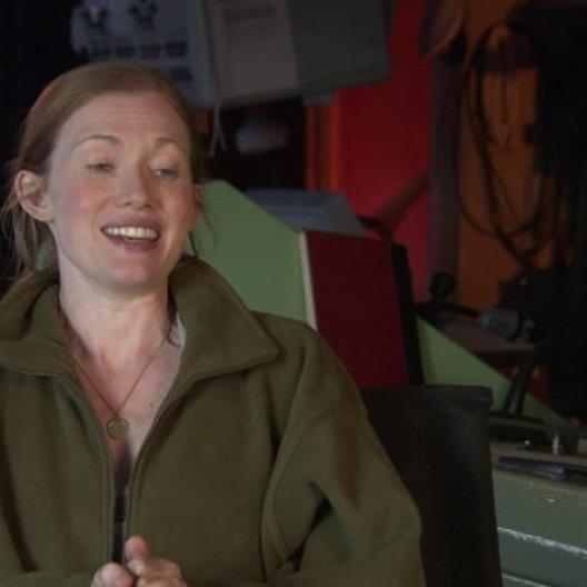 Mireille Enos - Karin Lane - über den Anfang der Geschichte - OV-Interview
