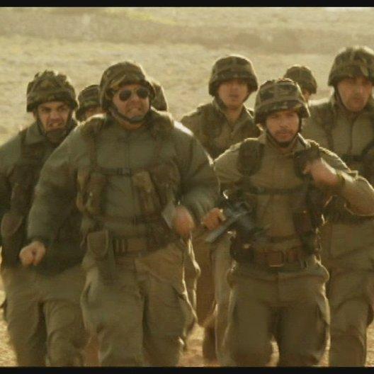 Soldaten jagen das Schwein - Szene