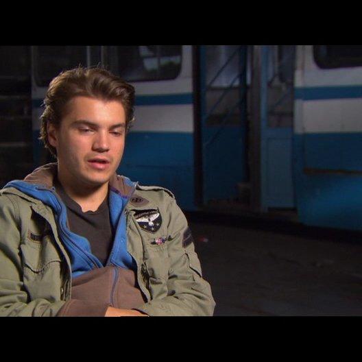Emile Hirsch (Sean) über seine Rolle - OV-Interview