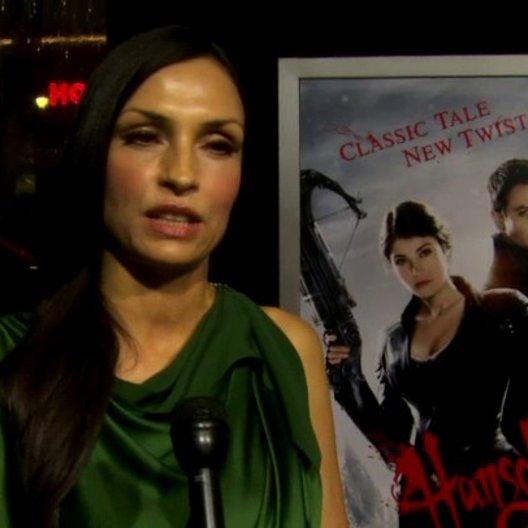 US Premiere - Famke Janssen - Muriel - über die Erhaltung des Genres Märchen - OV-Interview