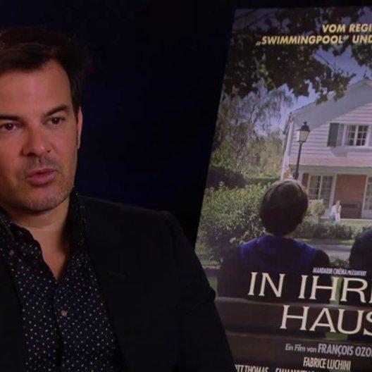 Francois Ozon Regiesseur darüber wie er Ernst Umhäufer fand - OV-Interview