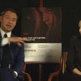 Jude Law - Dr Jonathan Banks - über die Themen des Films - OV-Interview