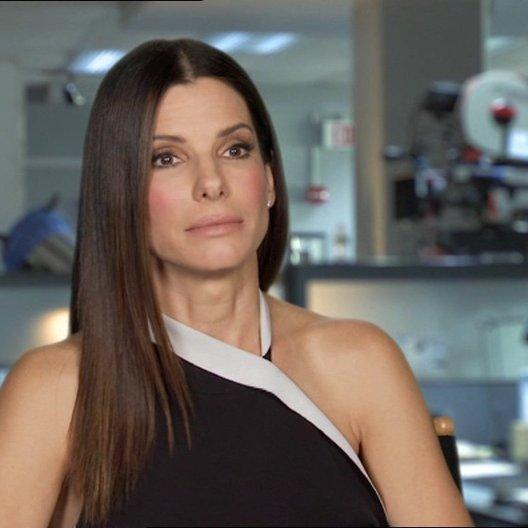 Sandra Bullock - Ashburn - über die Beziehung von Ashburn zu Mullins - OV-Interview