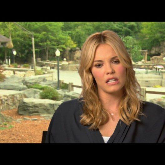 Leslie Bibb über Kevin James - OV-Interview