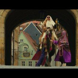 Ein Ritt hoch zu Kamel - Szene
