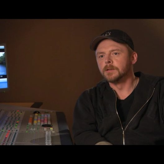 Simon Pegg über die Beziehung zu Eustachius - OV-Interview