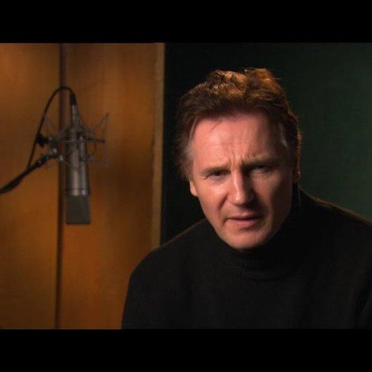 Liam Neeson über Aslans Beziehung zu Lucy und Edmund - OV-Interview