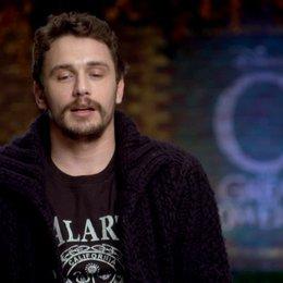 James Franco (Oz) über die Reise seiner Rolle durch das Land von Oz - OV-Interview