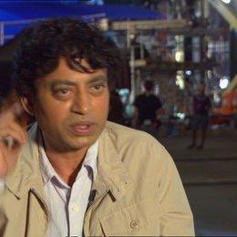 """Irrfan Khan - """"Erwachsener Pi Patel"""" über den Film - OV-Interview"""