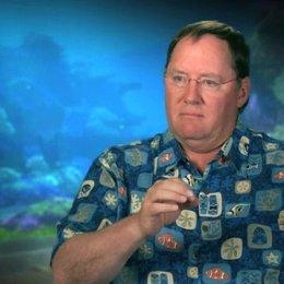 John Lasseter - Executive Director - darüber dass Findet Nemo ausgezeichnet für 3D geeignet ist - OV-Interview