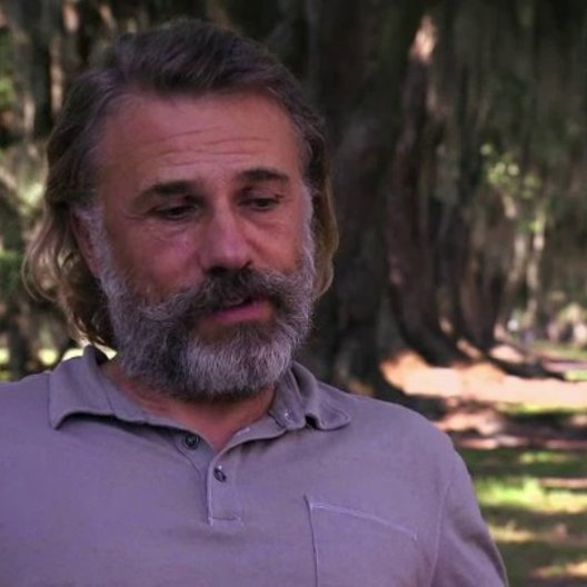 Christoph Waltz über die Story - OV-Interview
