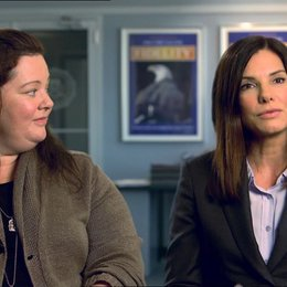 Sandra Bullock - Ashburn - und Melissa McCarthy - Mullins - über Freiheit beim Improvisieren - OV-Interview