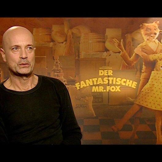 Christian Berkel über die Gründe Der fantastische Mr Fox anzuschauen - Interview