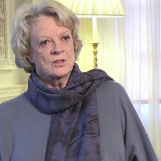 Maggie Smith über Dustin Hoffman - OV-Interview