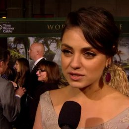 US Premiere - Mila Kunis (Theodora) über Sam Raimi - OV-Interview