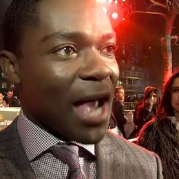 Weltpremiere - David Oyelowo - Detective Emerson über den Film - OV-Interview