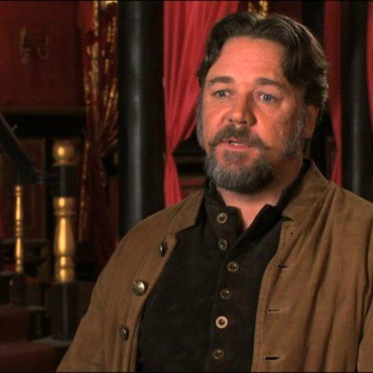 Russell Crowe über die Motivation von Jack Knife - OV-Interview