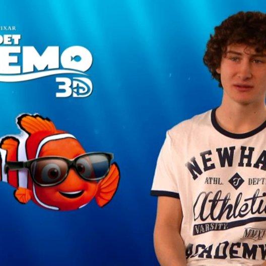 Domenic Redl - Synchronstimme Nemo - über die Zusammenarbeit mit Anke Engelke und Christian Tramitz - Interview