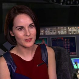 Michelle Dockery - Nancy - über die Stunts - OV-Interview