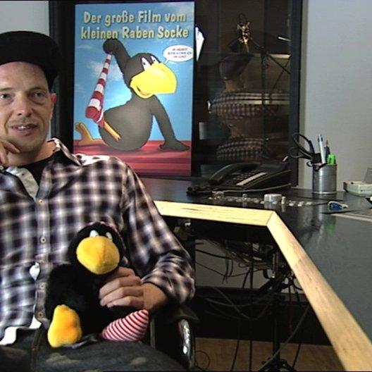 Jan Delay über die Identifikation mit dem Raben Socke - Interview