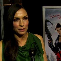 US Premiere - Famke Janssen - Muriel - über ihre Rolle - OV-Interview